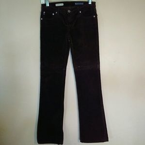 AG The Angel Bootcut Brown Corduroy Pants